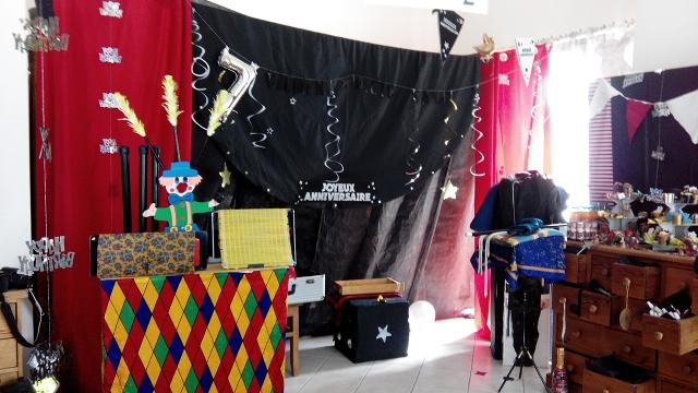 magicien pour anniversaire. Black Bedroom Furniture Sets. Home Design Ideas